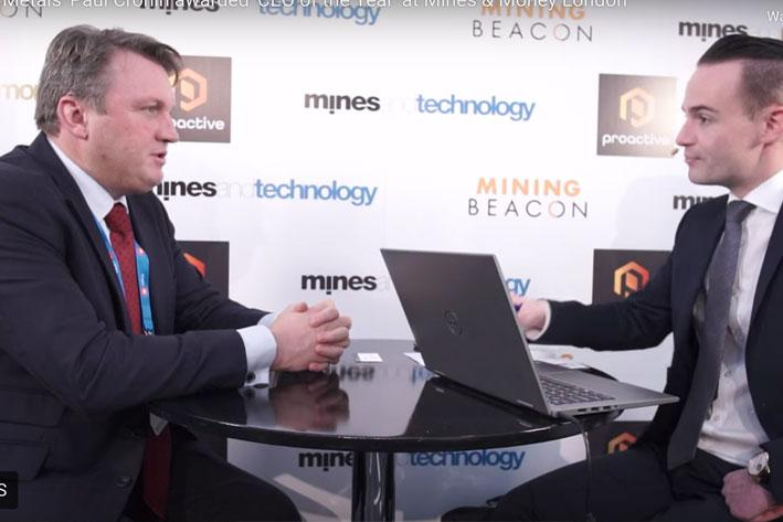 Adriatic Metals' Paul Cronin awarded 'CEO of the Year' at Mines & Money London