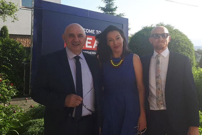 Adriatic Metals sponsors The Queen's Birthday Party at the British Embassy, Sarajevo