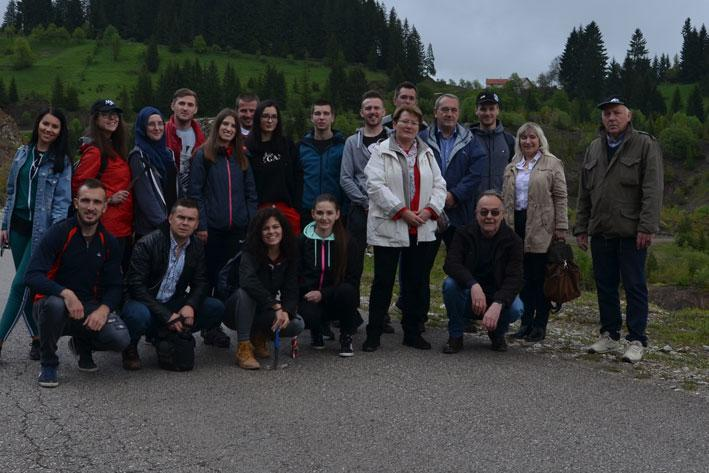 Students and professors of Faculty of Mining, Geology and Civil Engineering, University of Tuzla visited Adriatic Metals