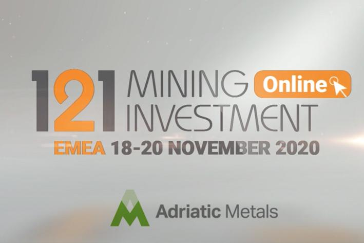 Adriatic Metals 121 EMEA Presentation 18-20 November 2020