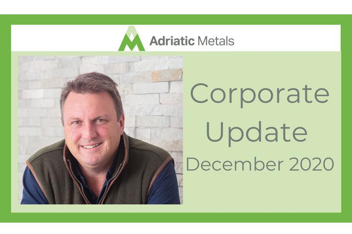 December Corporate Update from Paul Cronin